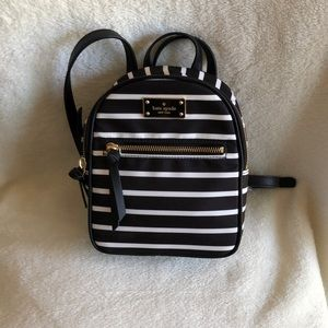 NWT Kate Spade mini backpack